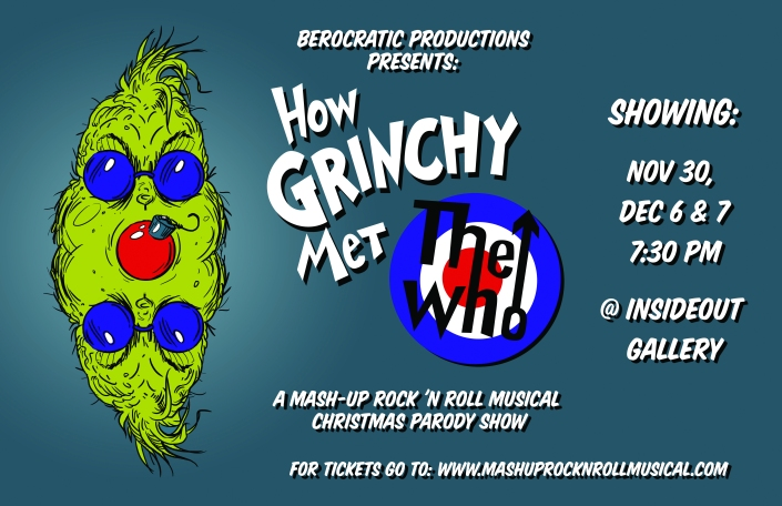 We're proud to pronounce our debut Mash Up Rock 'n Roll Musical!